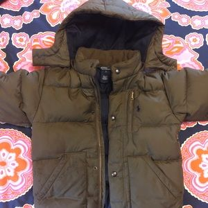 Other - Polo Ralph Lauren puffer with removable hood